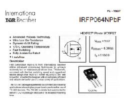IRFP260N High Power Mosfet 200V 50A - Thumbnail