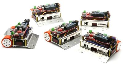 Jsumo - M1 Arduino Mini Sumo Robot Kit (Unassembled)