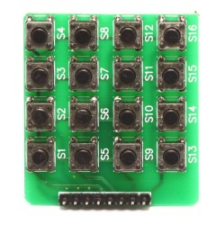Matrix Button Keypad Module (4x4 Keypad) - Thumbnail