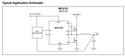 MIC4102YM TTL Half Bridge Mosfet Driver IC - Thumbnail