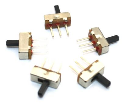 Micro Slider Switch SPDT (5 Pcs Pack)