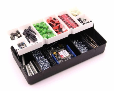 Jsumo - Mini Organizer Component Box (Black - 13 Compartment)