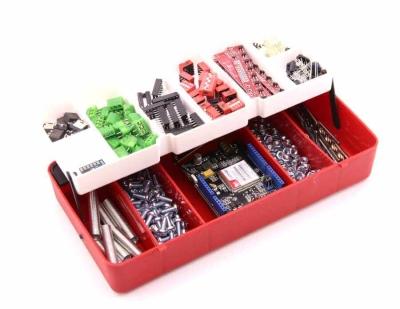 Jsumo - Mini Organizer Component Box (Red - 13 Compartment)