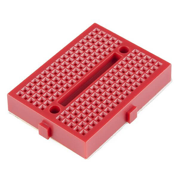 Mini Red Breadboard 170 Pinhole