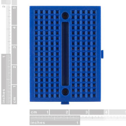 Mini Blue Breadboard 170 Pinhole - Thumbnail