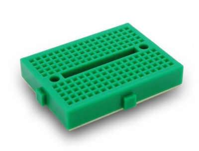 - Mini Green Breadboard 170 Pinhole