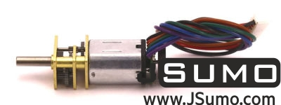 Jsumo - MP12 6V 1580 RPM High Power Micro Gearmotor With Encoder (1)