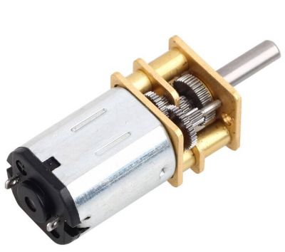 - MP12 Micro Gear Motor 6V 1580RPM HP (1)
