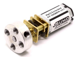 MP12 Extended Micro Gear Motor 6V 300RPM MP - Thumbnail