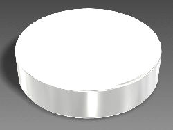 Neodymium Magnet Disc Strong N52 (20mm Dia. x 5mm) - Thumbnail