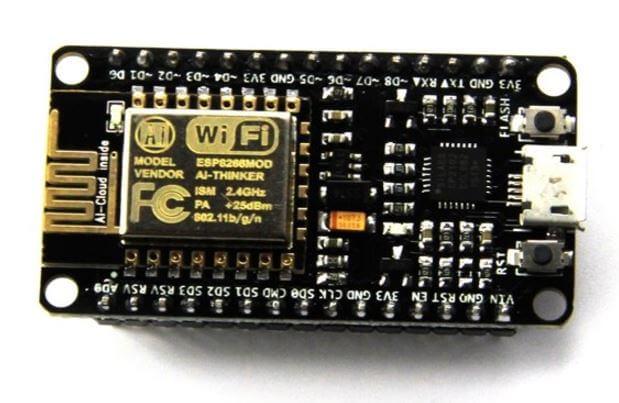 NodeMCU LoLin ESP8266 Development Board (CP2102 USB Driver)