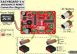 Obstacle Avoidance Robot Kit - Thumbnail