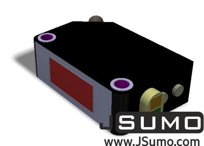 Omron - Omron E3Z-D62 Diffuse Type Reflective Sensor (1)