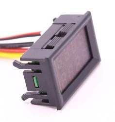 Panelmeter Voltmeter & Ammeter (4.5-30V & 10A) - Thumbnail