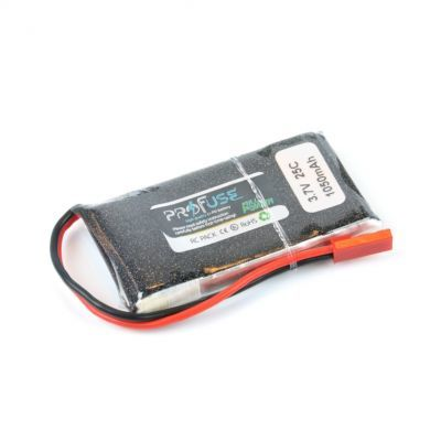 - Profuse 1S 3,7V 1050 Mah LiPo Cell Battery