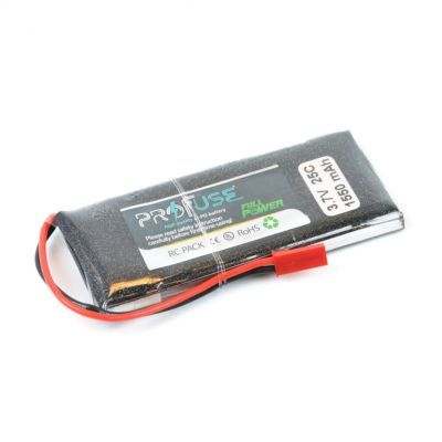 - Profuse 1S 3,7V 1550 Mah LiPo Cell Battery