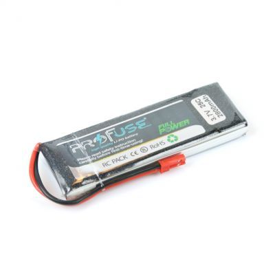 - Profuse 1S 3,7V 2800 Mah LiPo Cell Battery