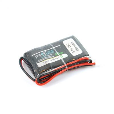 - Profuse 1S 3,7V 950 Mah LiPo Cell Battery