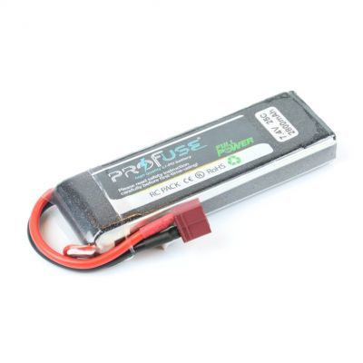 - Profuse 2S 7.4V 2800 Mah LiPo Battery