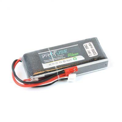- Profuse 2S 7.4V 2200 Mah LiPo Battery