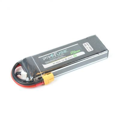 - Profuse 3S 11.1V Lipo Battery 3400mAh 25C