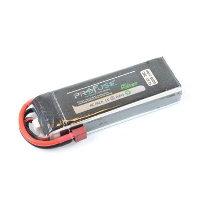 - Profuse 4S 14.8V Lipo Battery 3000mAh 25C