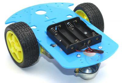 RoboMOD 2WD Mobile Robot Chassis Kit (Orange)