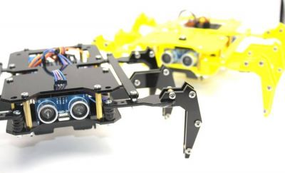 Jsumo - ROBUG Arduino Based Hexapod Robot Kit (Black) (1)