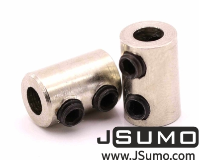 Jsumo - Shaft Coupler 4mm-4mm (Pair)
