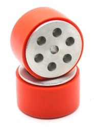 JS5230 Aluminum - Silicone Wheel Set (52 x 30mm - Pair) - Thumbnail