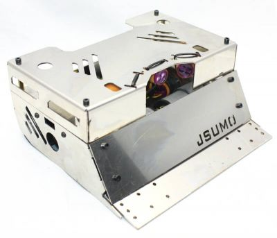 Jsumo - SteelWarrior Sumo Robot Kit (No Electronics - Not Assembled)
