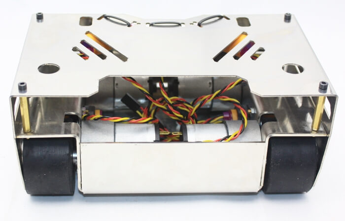 SteelWarrior Sumo Robot Kit (No Electronics - Not Assembled)
