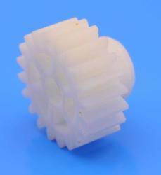 Stock Hard Plastic Spur Gear (1 Module - 20 Tooth) - Thumbnail