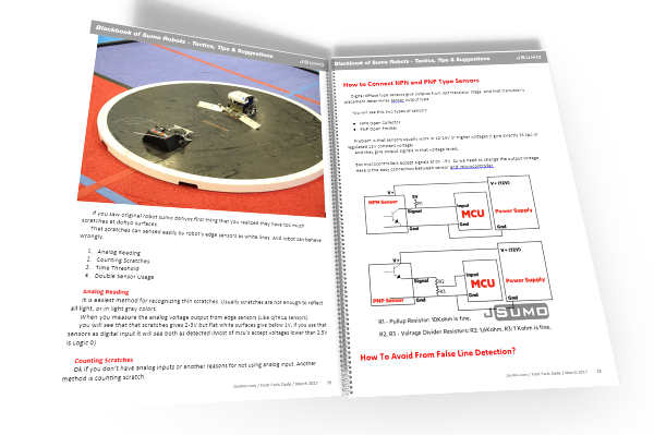 Sumo Black Book (Ebook) - Tips & Tactics for Better Sumo Robots