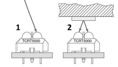 Vishay - TCRT5000 Genuine Optocoupler (1)