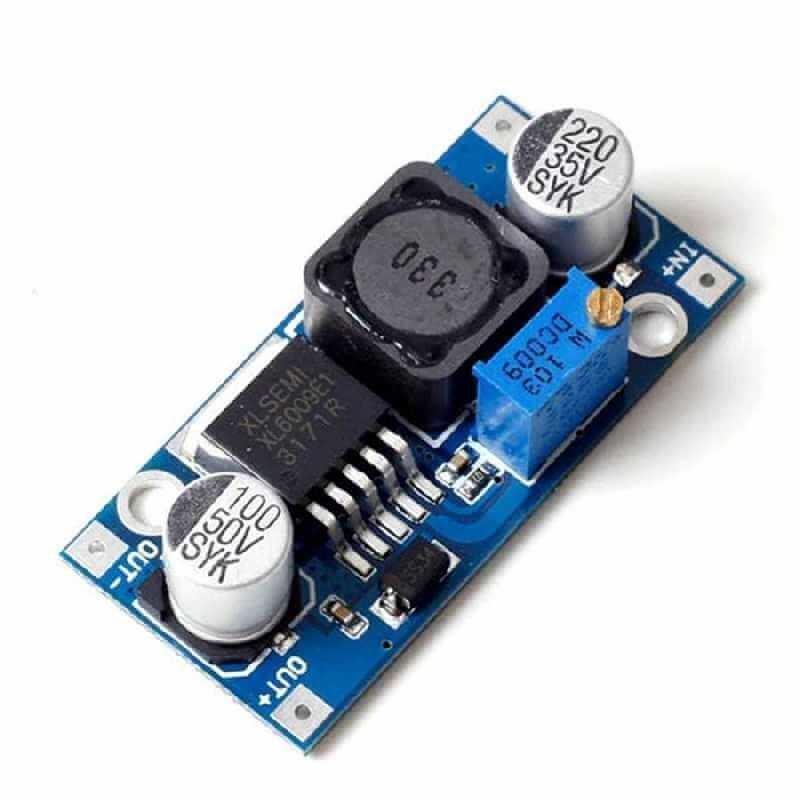 XL6009 Step Up Boost Regulator Board 1.25V - 35V Out