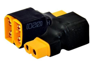 - XT60 Series Connector (2 In 1 Out)