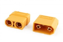 XT90 High Current Connectors (Pair - Female Male) - Thumbnail