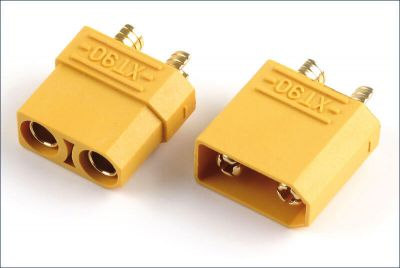 - XT90 High Current Connectors (Pair - Female Male)