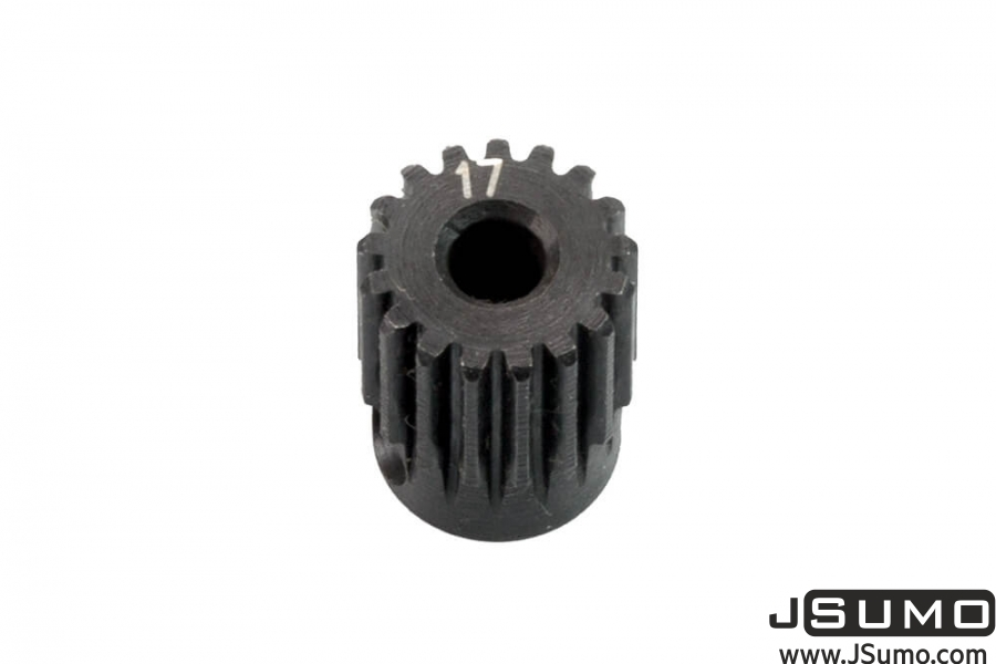 0.5M Hardened Steel Pinion Gear - 17T