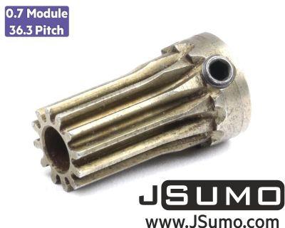 Jsumo - 0.7 Module (36.3 Pitch) 12T Pinion Gear - Ø5mm