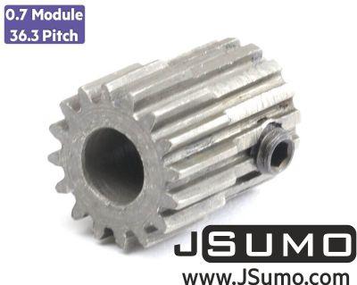 Jsumo - 0.7 Module (36.3 Pitch) 16T Pinion Gear - Ø6mm