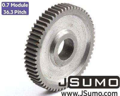 Jsumo - 0.7 Module (36.3 Pitch) 60T Gear - Ø12mm