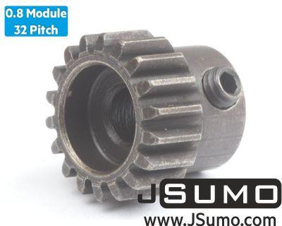 Jsumo - 0.8 Module (32 Pitch) 18T Pinion Gear - Ø5mm