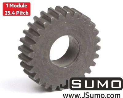 Jsumo - 1 Module 28 Tooth (28T) Steel Gear - Ø12mm