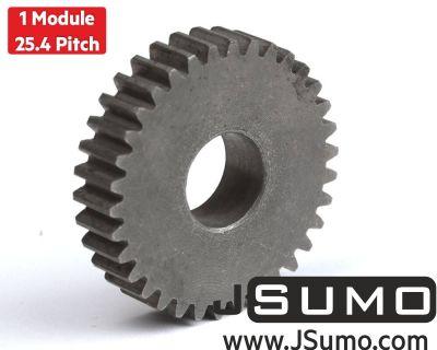 Jsumo - 1 Module 34 Tooth (34T) Steel Gear - Ø12mm