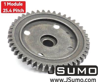 Jsumo - 1 Module 44 Tooth (44T) Steel Gear - Ø6mm