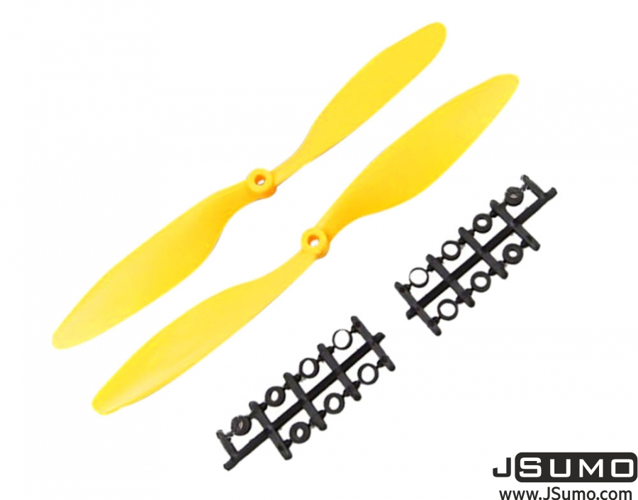 1045 Propeller Pair Yellow (CW & CCW)