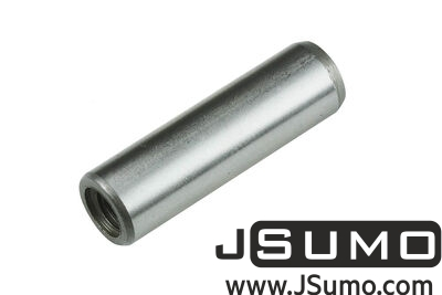 Jsumo - Ø10 x 35mm Hardened Steel Shaft (with M6 Threaded Hole)