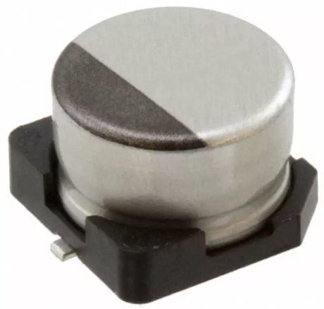 100uF 6.3V Aluminum SMD Capacitor